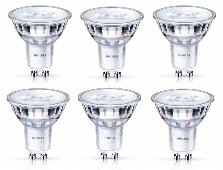 Philips GU10 5Watt LED lamp SceneSwitch 6 Stuks
