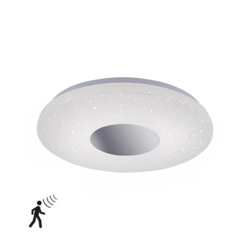 Plafondlamp Stars Wit IP44 incl. Bewegingssensor