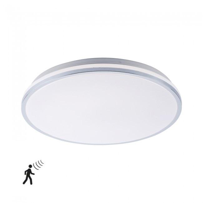 Plafondlamp Isa Wit IP44 incl. Bewegingssensor