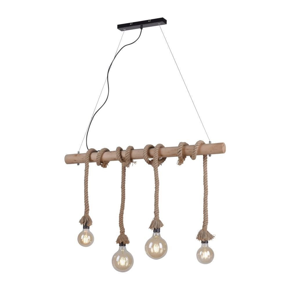 Hanglamp Rope 100cm 4 Lichts