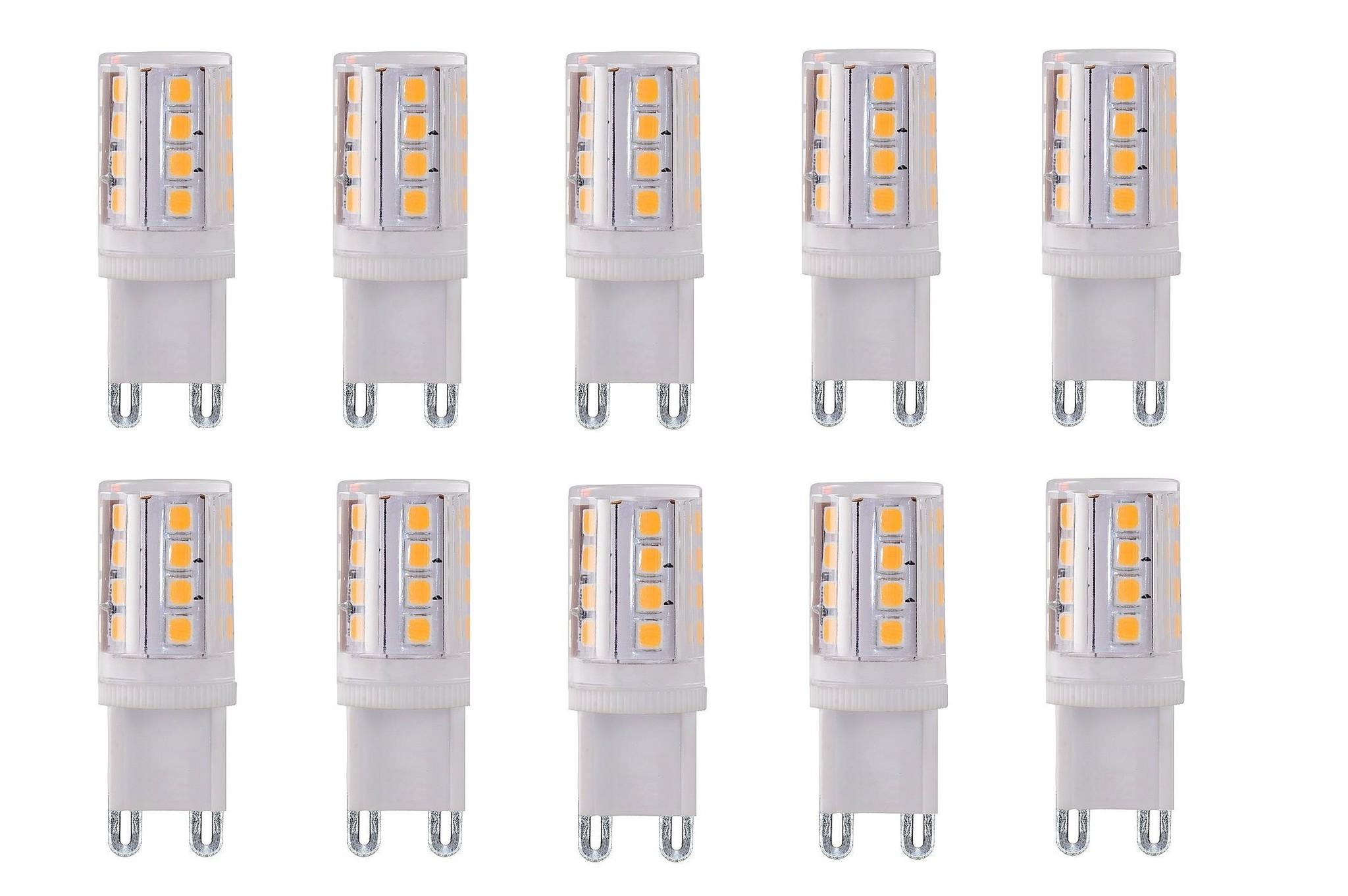 G9 3.5Watt Led Lamp 2700K Dimbaar 10 Stuks