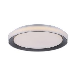 Plafondlamp Disc Zwart 51cm Lola  Smart Home