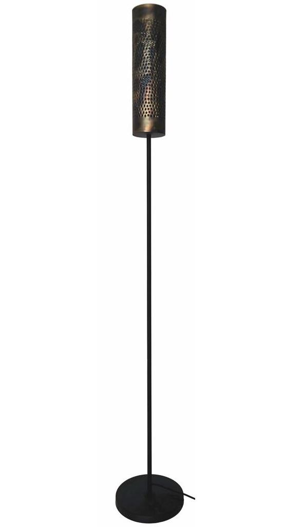 Vloerlamp Forato Vintage Black Brown 175cm