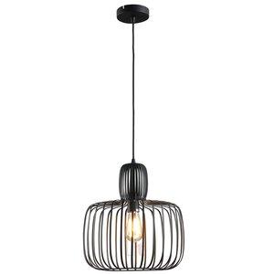 Hanglamp Costola Mat Zwart 45cm