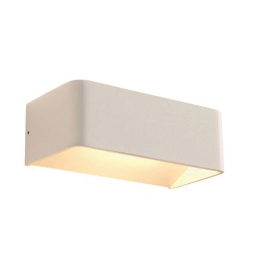 Wandlamp Mainz Wit 2 x 3Watt Led
