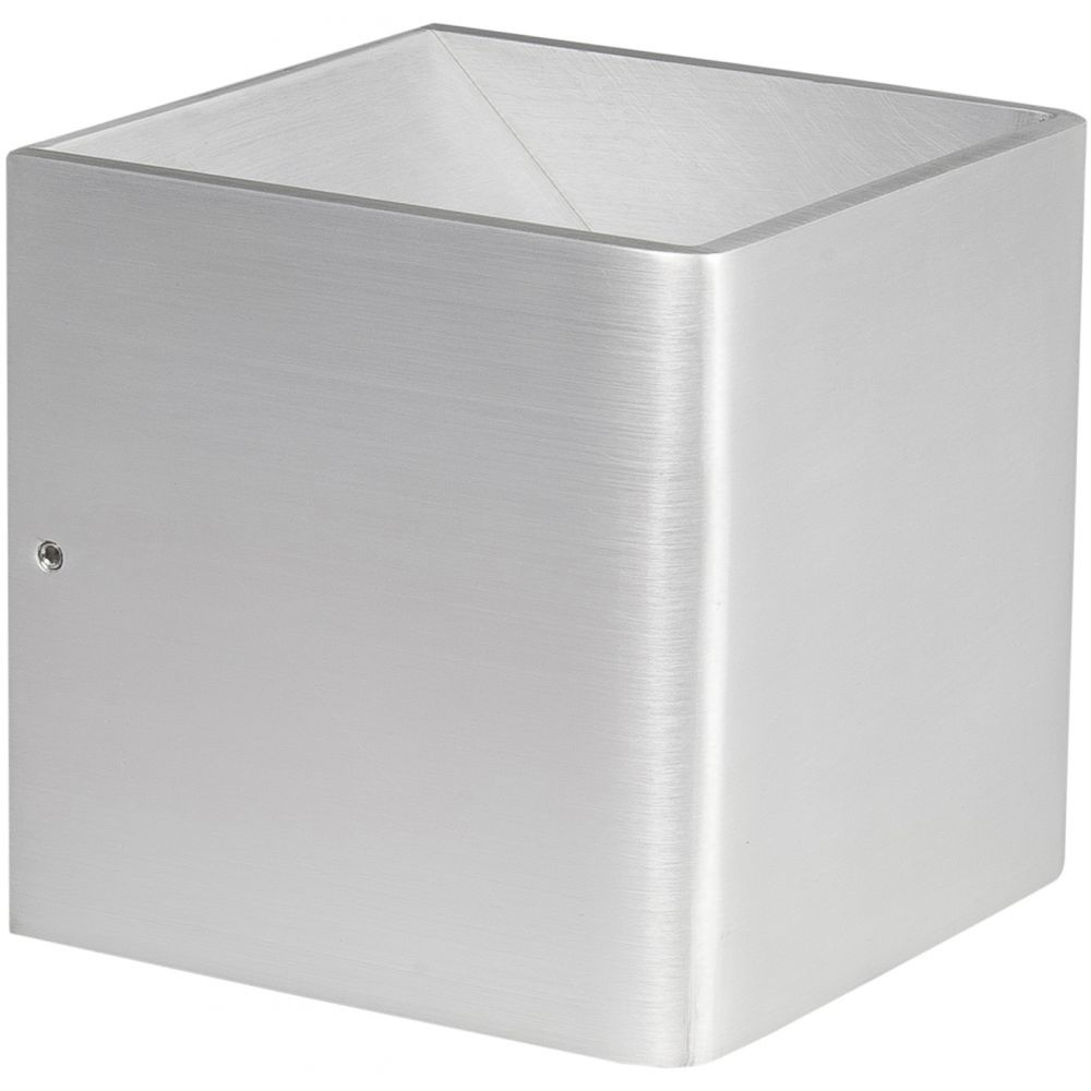 Wandlamp Stretto Aluminium 10 x 10cm Led