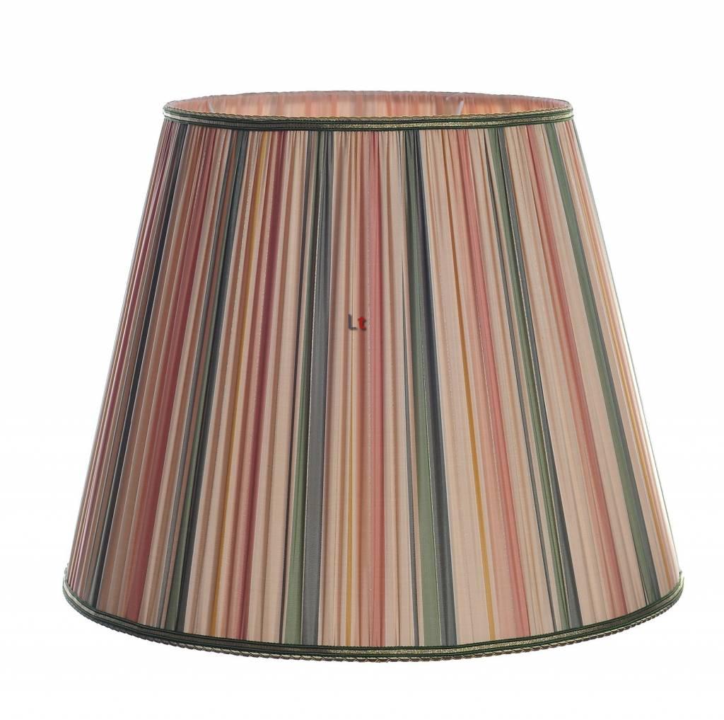Vloerlamp Kap Klassiek Rimpelkap Mozart Streep 55cm