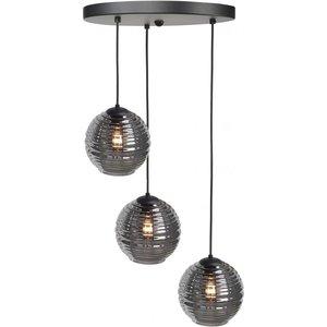 Hanglamp Fantasy Ball Smoke 3 Lichts