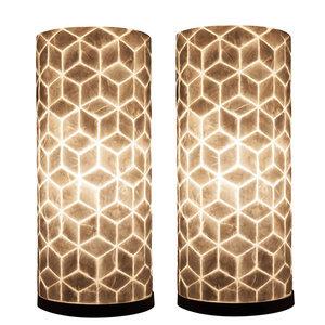 Tafellamp Cube 40cm 2 Stuks