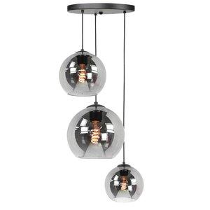 Hanglamp Balloon Smoke Glas 3Lichts 160cm