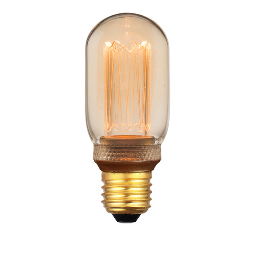 E27 5Watt Led Gold 40mm incl. Stappen Dimmer