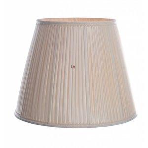 Vloerlamp Kap Klassiek Plooikap Creme Zalm 55cm