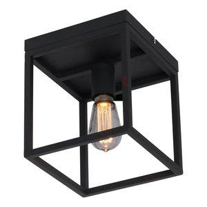 Plafondlamp Novanta  Mat Zwart 22cm