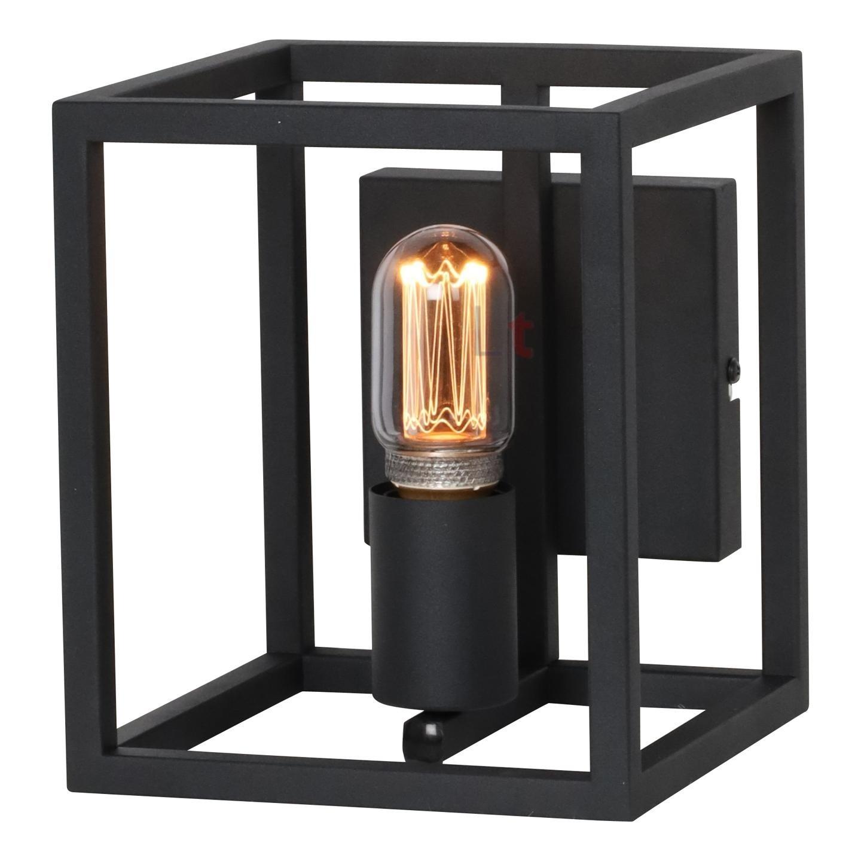 Wandlamp Novanta Mat Zwart 18cm