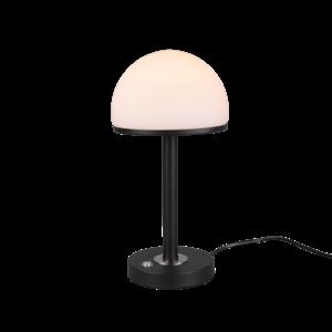 Tafellamp Berlin mat Zwart 39cm 4Watt Led