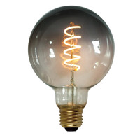 Plafondlamp Aglio Mat Zwart 40cm