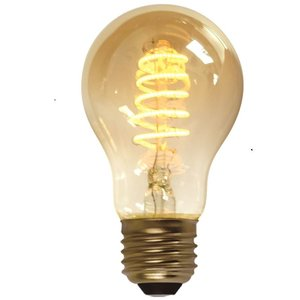 E27 7Watt Led Gold 60mm incl. Stappen Dimmer