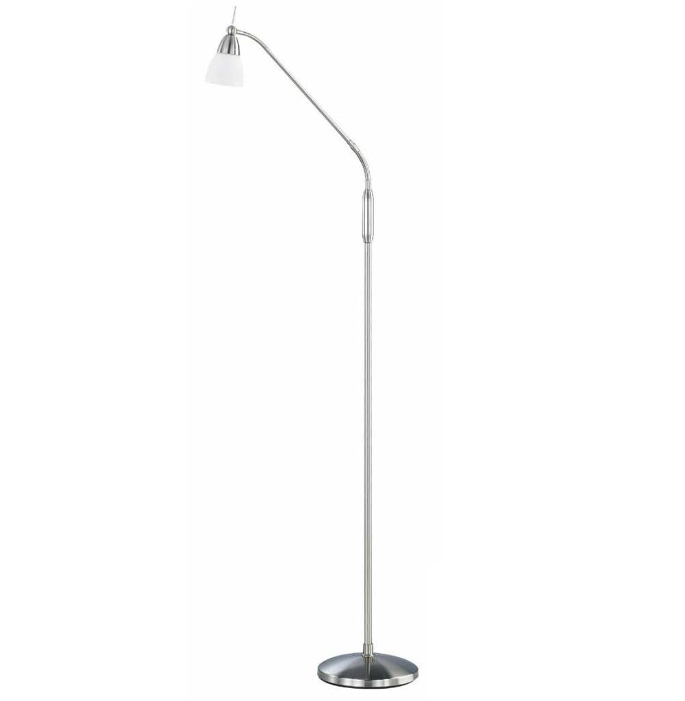 Vloerlamp Pino Staal Led incl. 3 Standendimmer