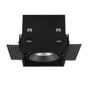 Inbouwspot Vierkant Zwart Trimless GU10