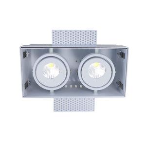 Inbouwspot  Wit Trimless GU10  2 Lichts