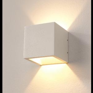 Wandlamp LED Cube WIT IP54 Dim To Warm