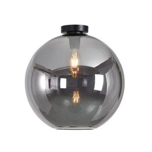 Artdelight Plafondlamp Marino Smoke Glas 40cm