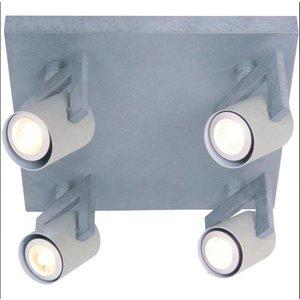 Spot Valvola 4 Lichts LED Beton Grijs