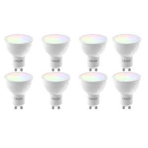Calex GU10 5Watt Smart Home Wifi RGB-Wit 8 Stuks