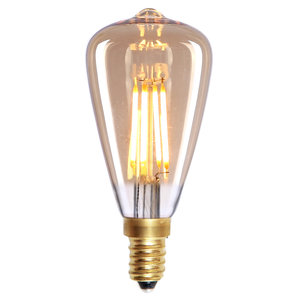 E14 4Watt Led Gold Dimbaar Edison
