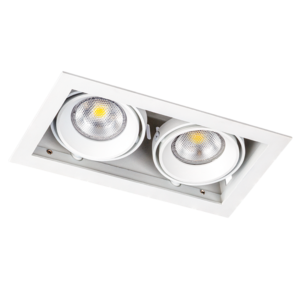 Inbouwspot Wit GU10 2 Lichts