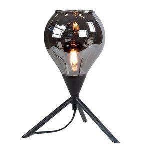 Tafellamp Cambio Black & Smoke 22cm Ø