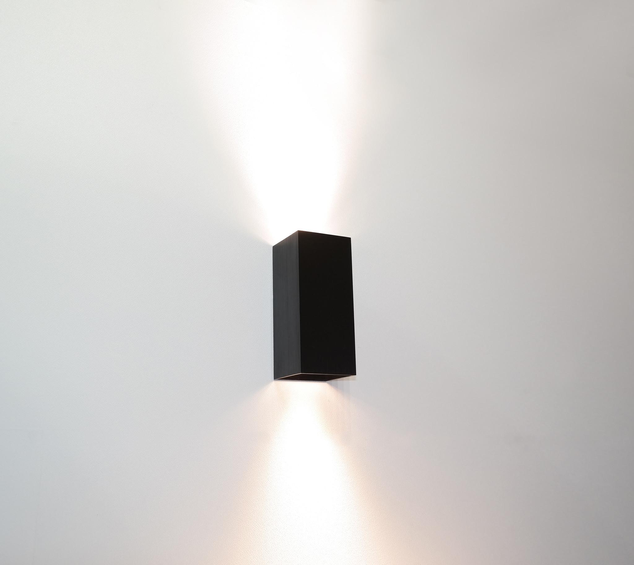 Wandlamp Dante Zwart GU10