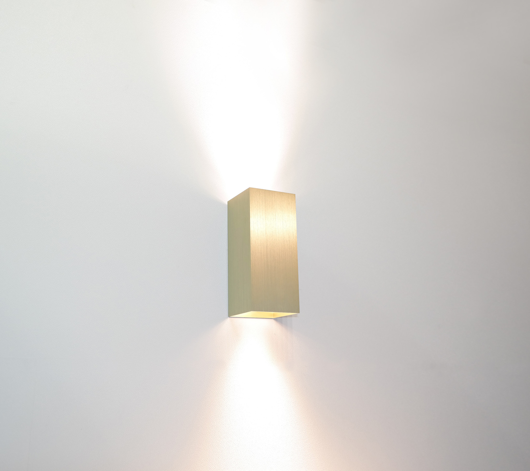 Wandlamp Dante Mat Goud GU10