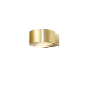 Artdelight Wandlamp LED Hudson Mat Goud IP54