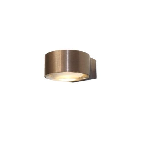 Wandlamp LED Hudson Mat Brons IP54