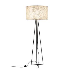 Vloerlamp Capri M White 55cm Ø