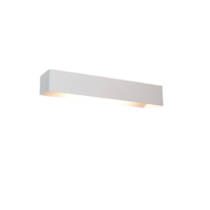 Artdelight Wandlamp Mainz Mat Wit XL LED