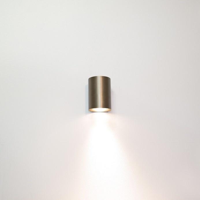 Wandlamp Roulo 1 Brons GU10