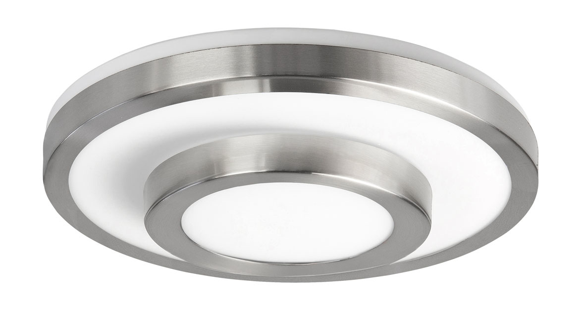 Plafondlamp Master RVS 35cm IP44