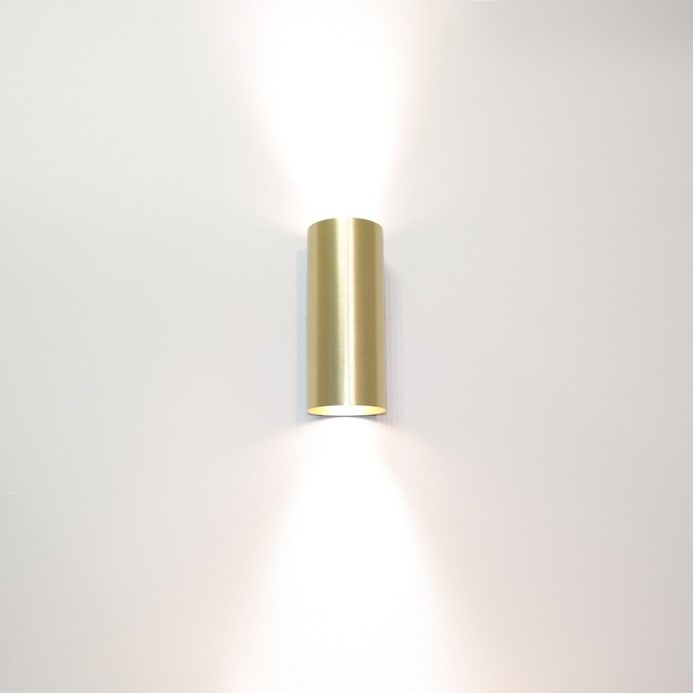 Wandlamp Roulo 2 Goud GU10