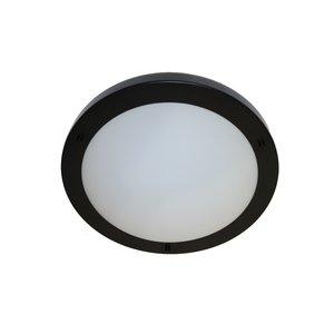 Artdelight Plafondlamp Yuca I Zwart Led 30cm IP44