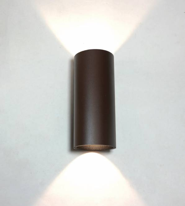 Wandlamp Brody Bruin Led IP54