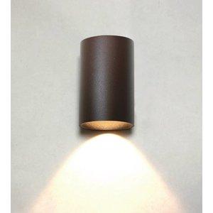 Artdelight Wandlamp Brody II Bruin Led IP54