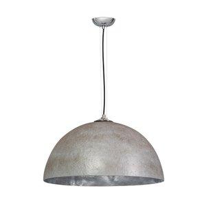 Hanglamp Mezzo Tondo Beton Grijs / Zilver 50cm Ø