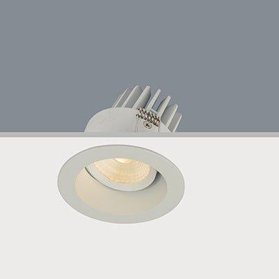 Inbouwspot LED Wit Rond Verdiept IP44