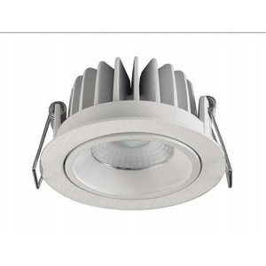 Inbouwspot LED Rond 10Watt IP44 Wit