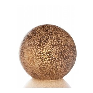 Tafellamp Shell Ball Gold 30cm Ø