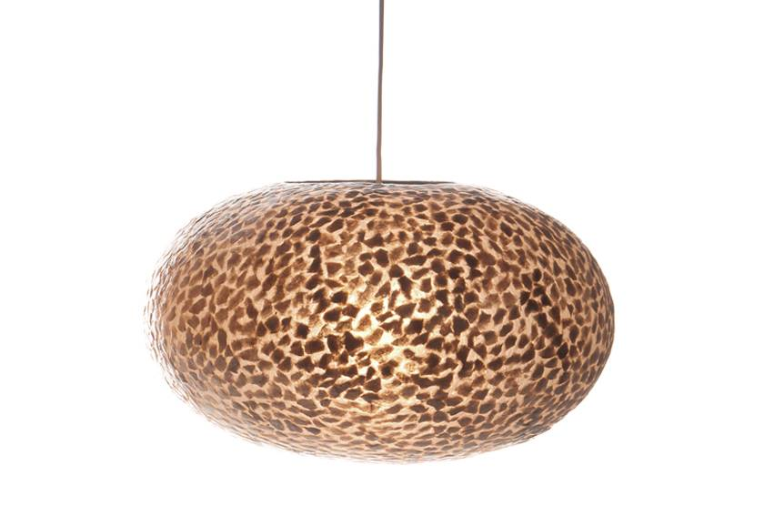Hanglamp Wangi Gold UFO 40cm �
