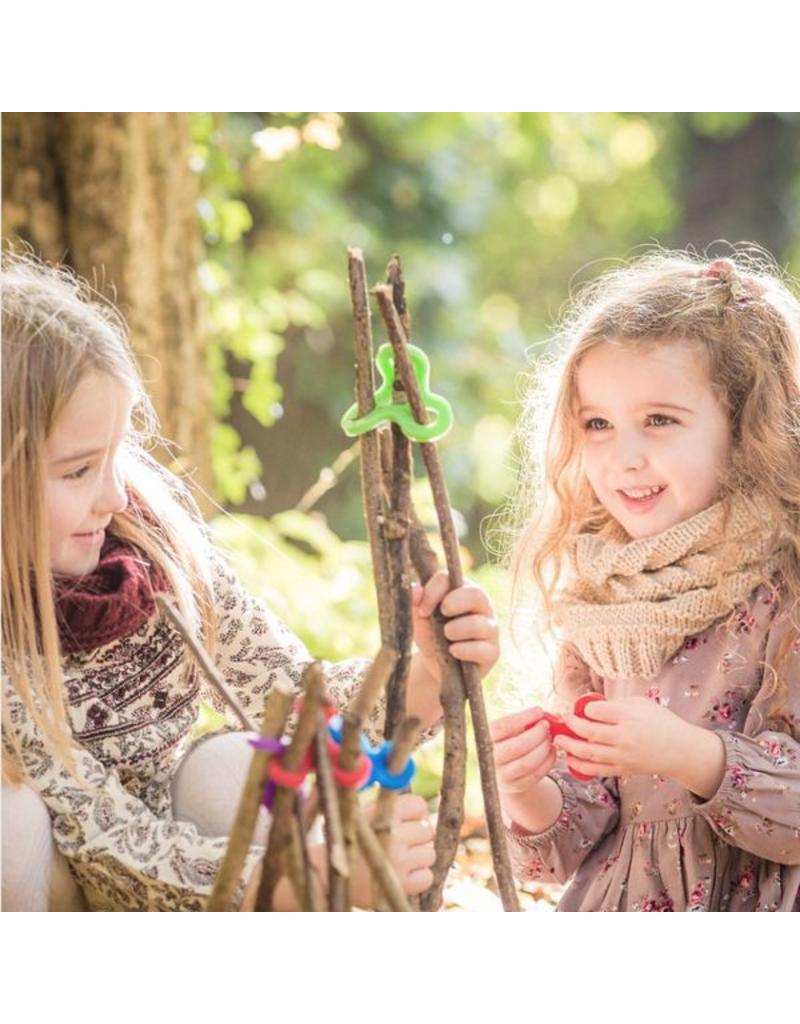 Stick-lets Stick-Lets Forest Fort Kit 56 pieces