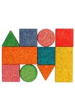 Korxx Baby C - 10 gekleurde kurk blokken